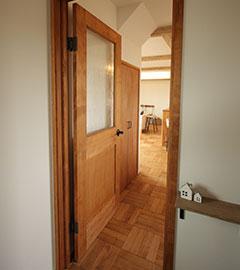 手づくりドア