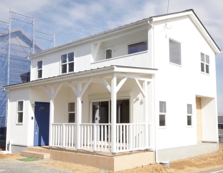 カリフォルニア風サーファーズスタイルの家