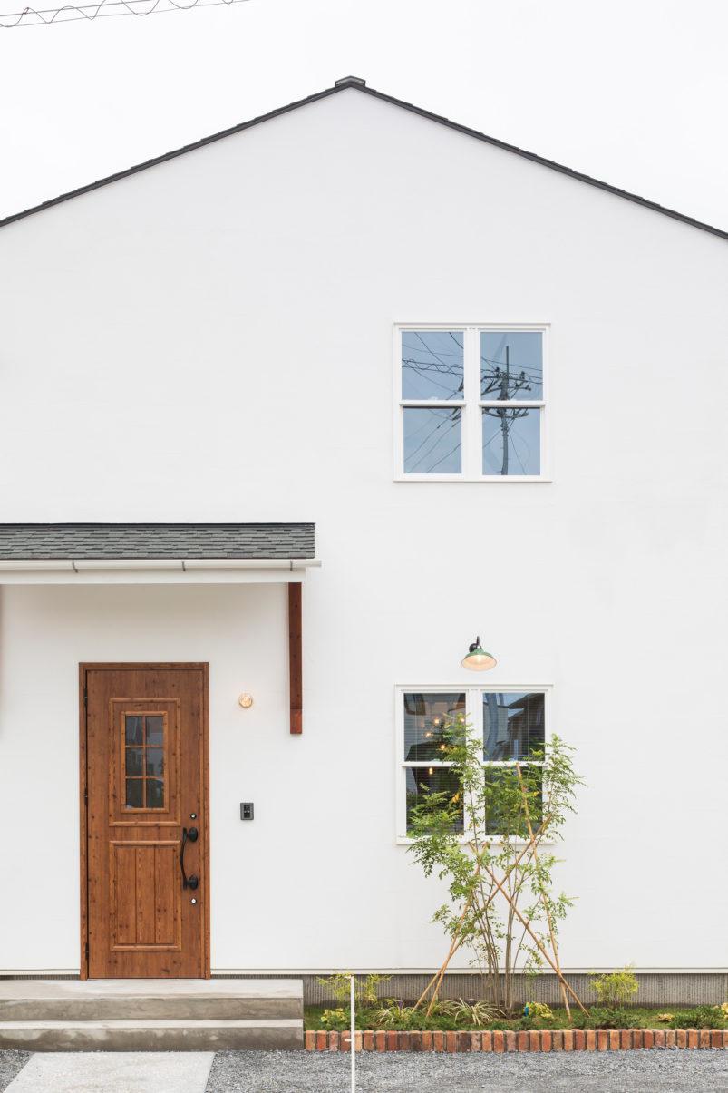 美しい塗り壁の家