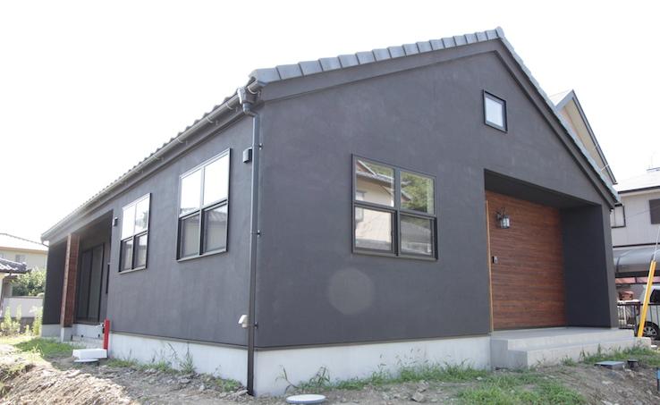 ケルヒャーでメンテナンスできる平屋の家