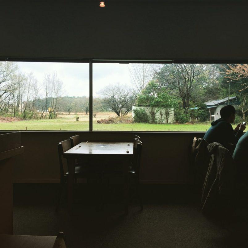 窓からの景色の写真