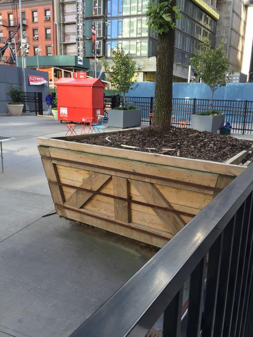 木でつくる鉢ボックス