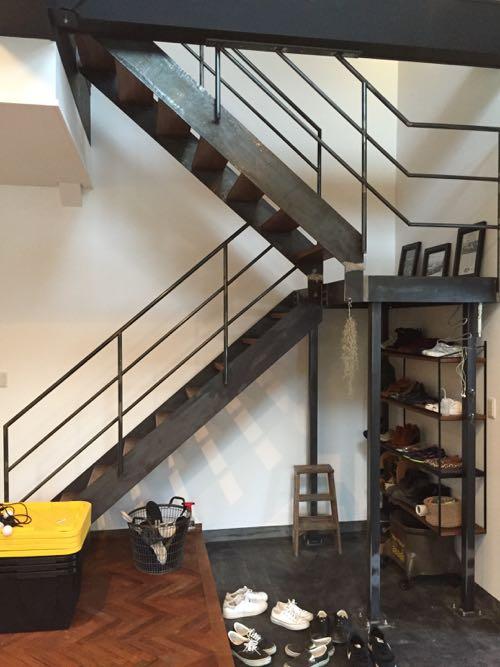 アイアンの階段