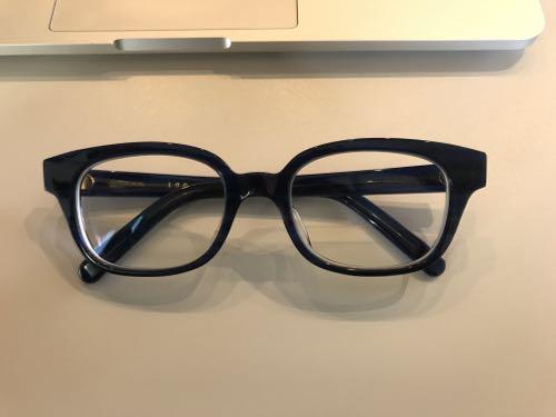 お気に入りの白山眼鏡