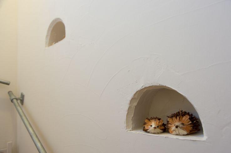 漆喰のおしゃれな壁