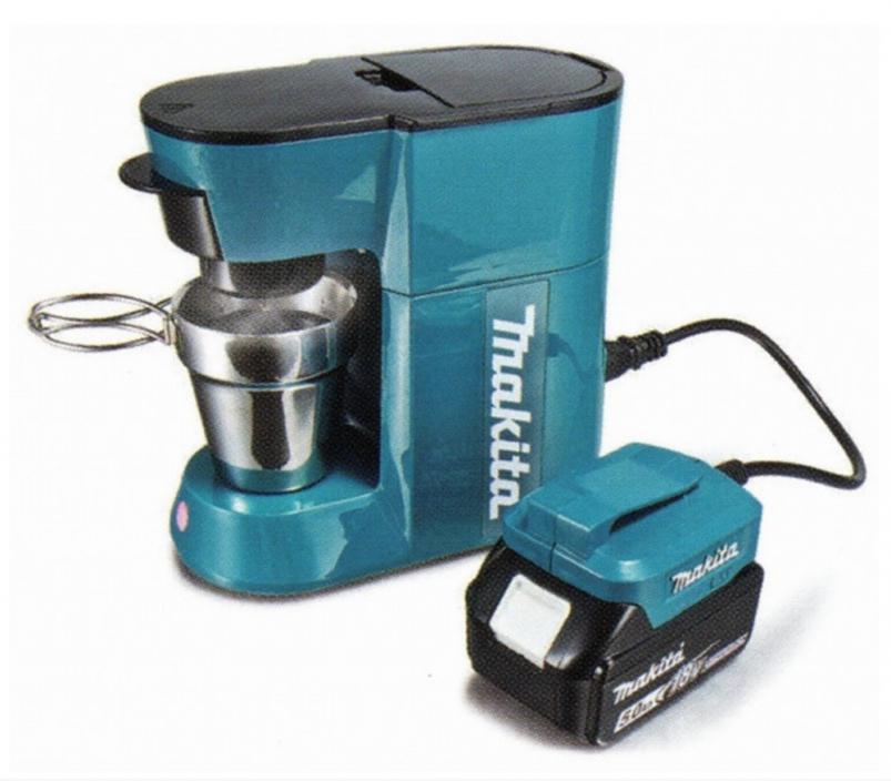 マキタのコーヒーメーカー