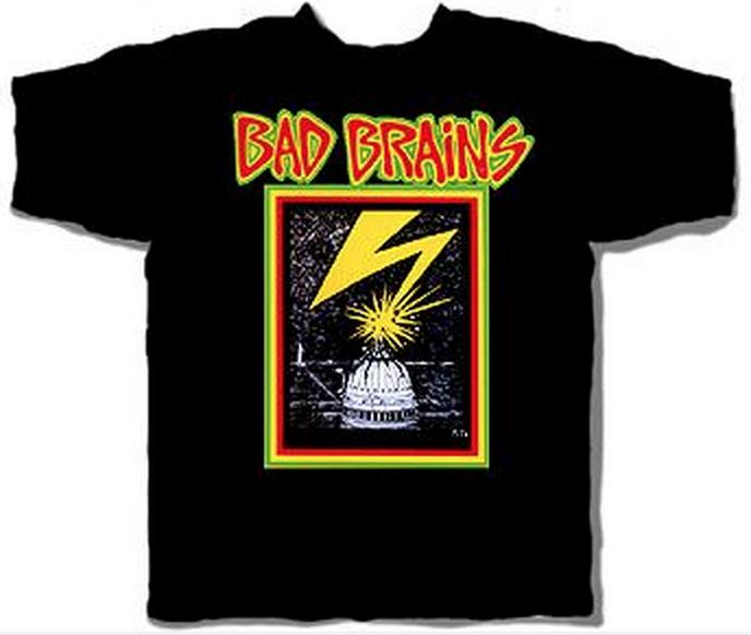 バッドブレインズのTシャツ