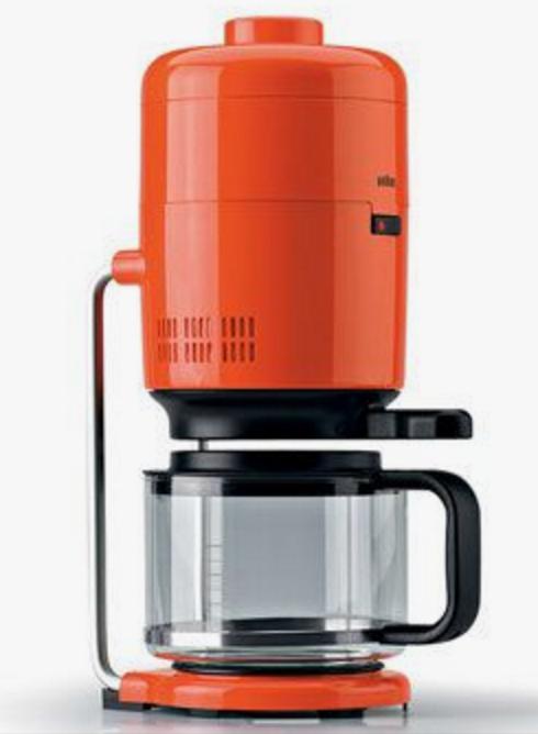 ブラウンのコーヒーメーカー