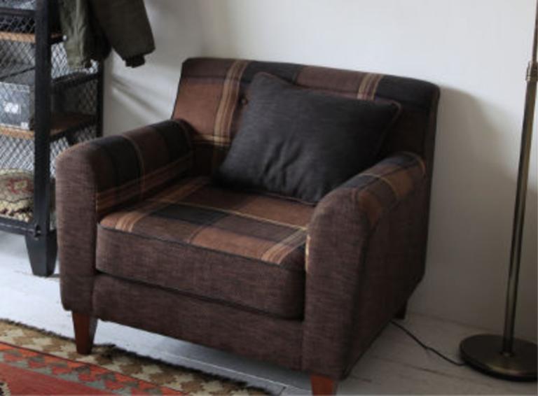 一人用のソファ